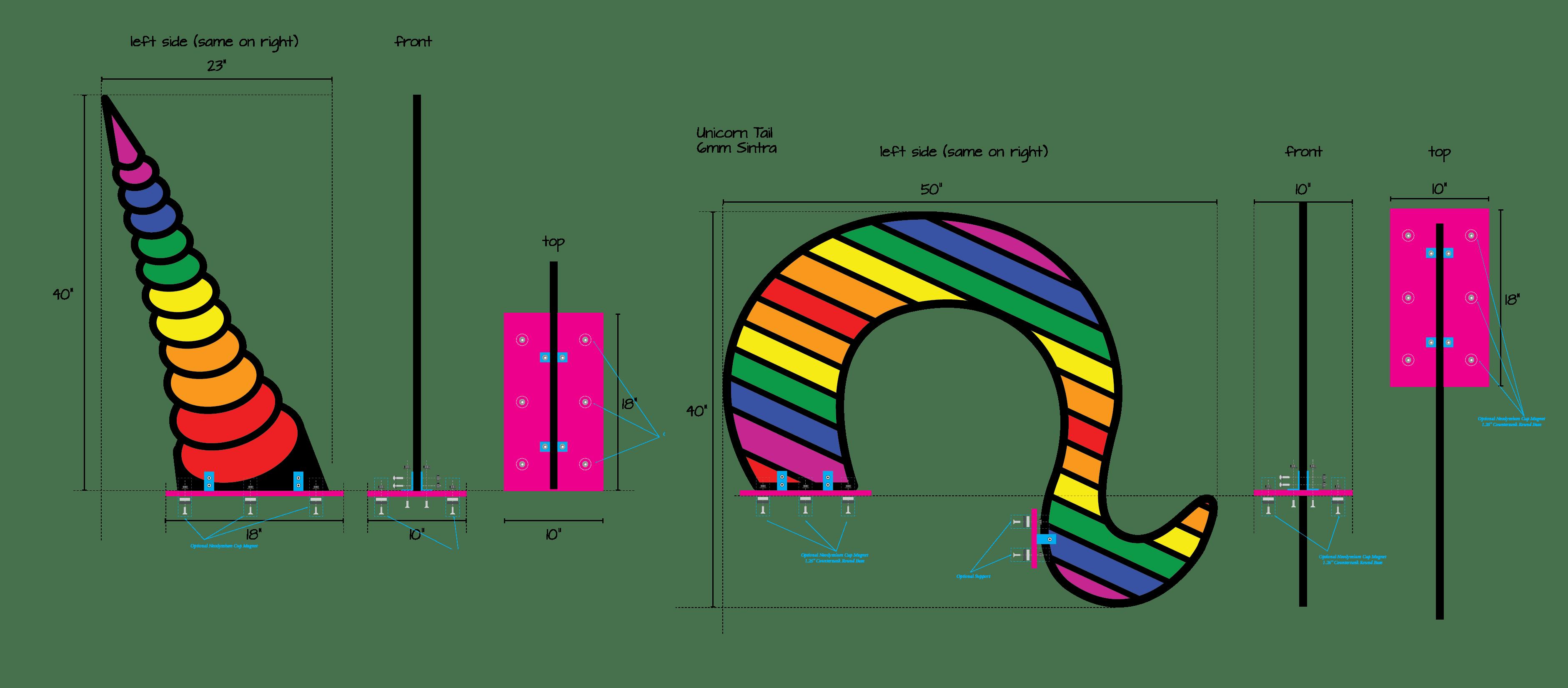 Comcast Pride Van - Drag & Drop Creative